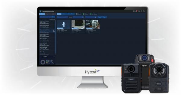 Hytera-Bodycam-Evidence-Management-software