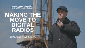 Motorola EVX digital Radios