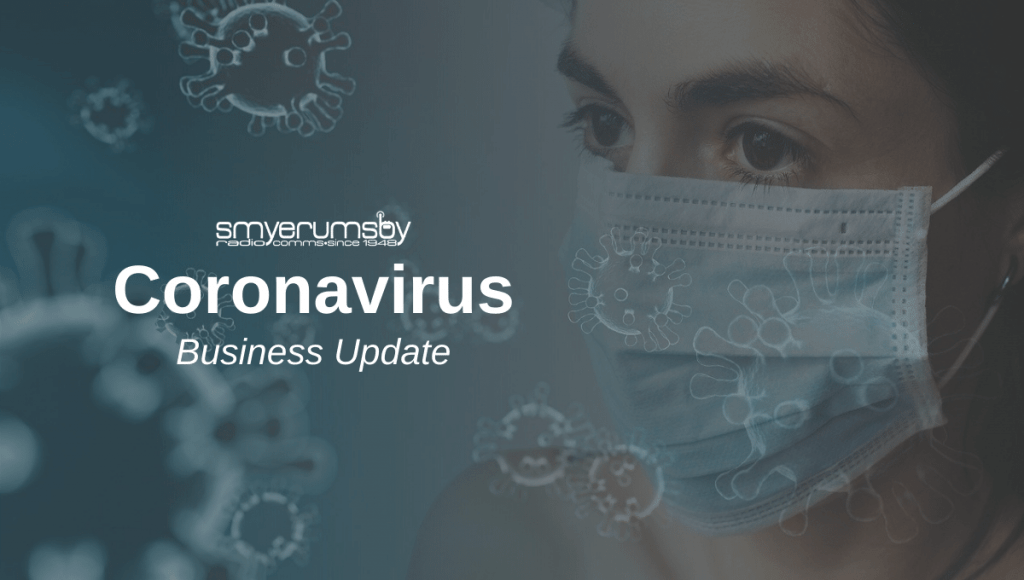 Our Coronavirus business Update for Radio Communications Services