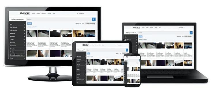 Pinnacle PR6 Digital Evidence Management System For Body Worn Cameras