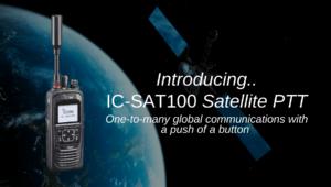 IC-SAT100 Satellite PTT Image