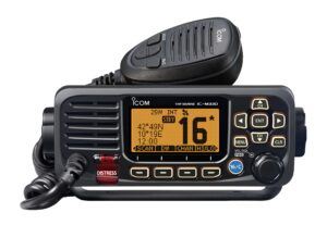 fixed vhf radio by icom m330