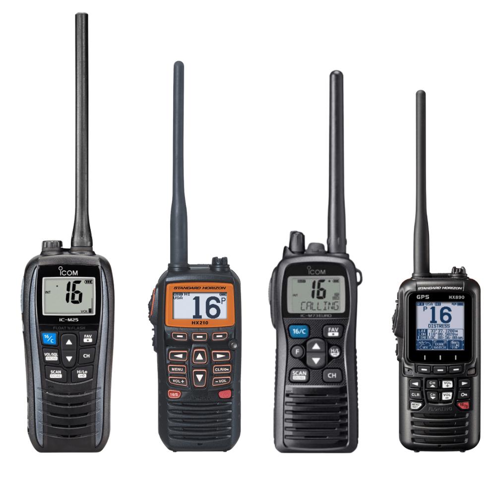 Marine Handheld VHF Radio ICOM, Standard Horizon