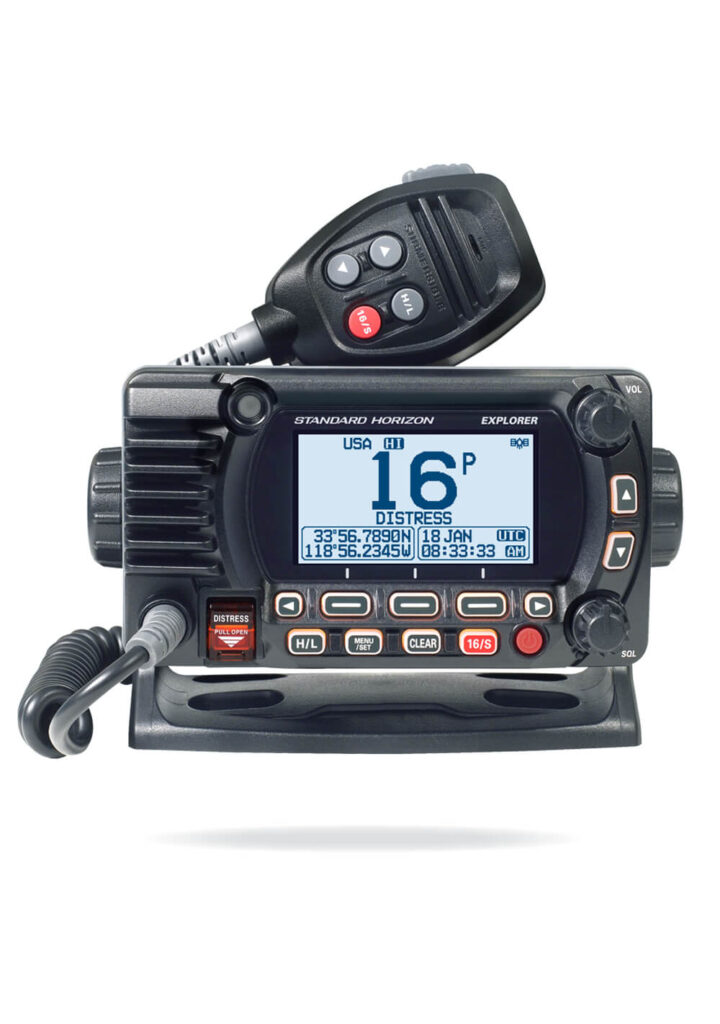 GX1850 Marine VHF Radio with GPS
