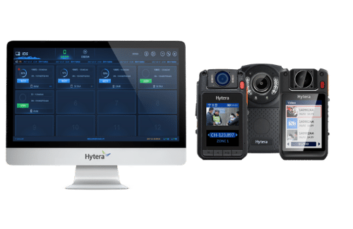 Hytera Body Worn Camera Hire and DEMS System