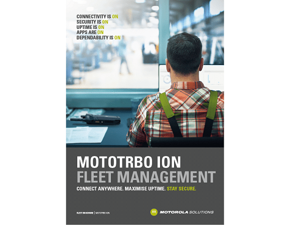 Mototrbo ion fleet management solutions