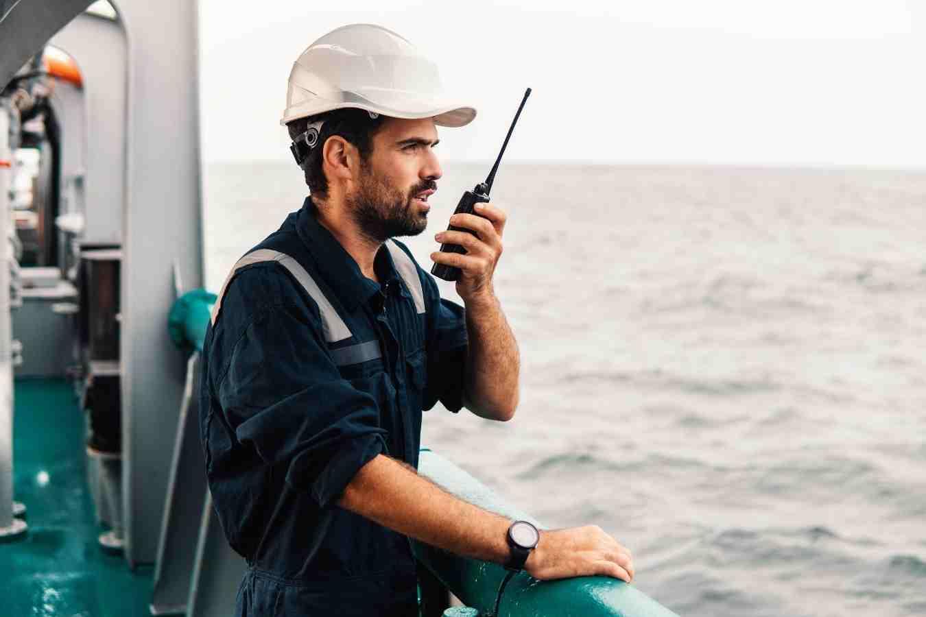 Marine VHF Two Way Radio Exammple
