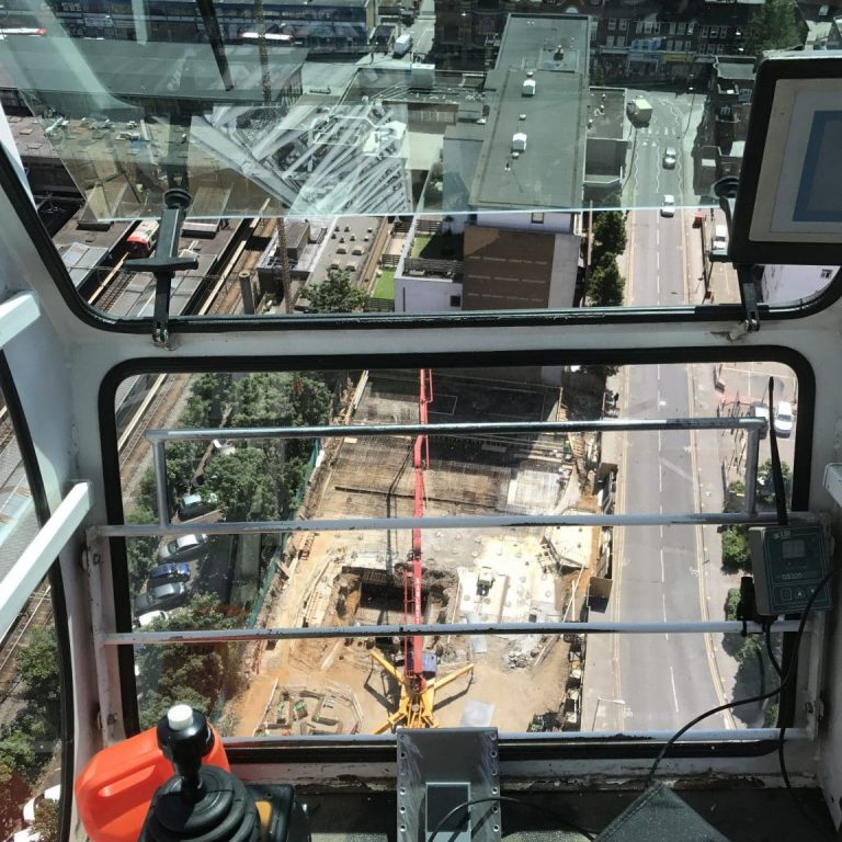 Crane Antenna Two Way Radio In Footwell